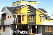 两层轻钢别墅房屋
