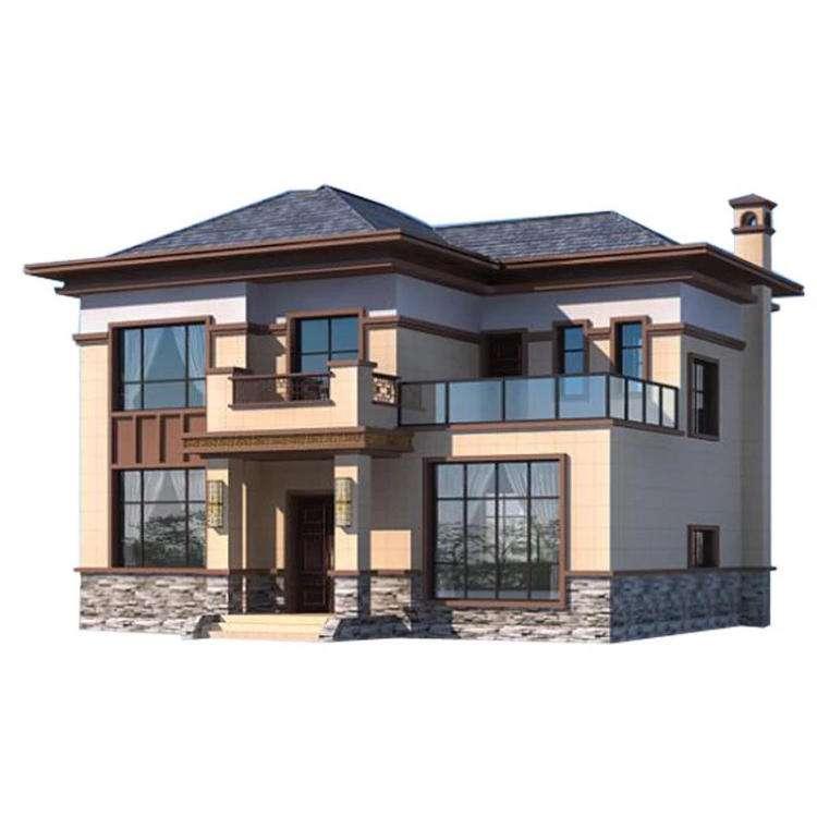 二层农村自建轻钢别墅